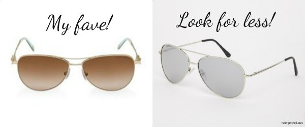 Dress for Less: My Fave Sunglasses!
