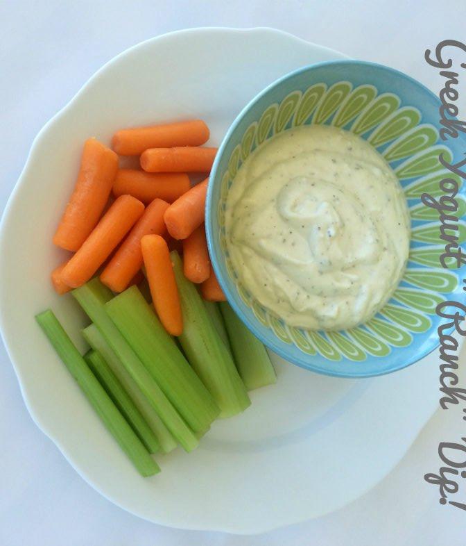 """Greek Yogurt """"Ranch"""" Dip"""