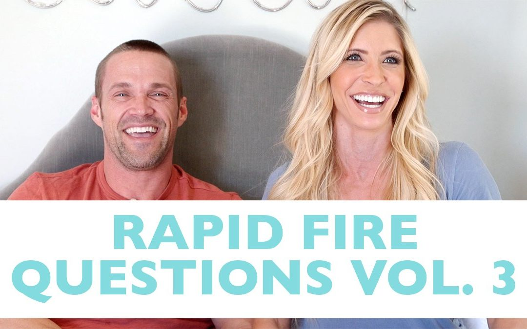 Rapid Fire Vol. 3 | First Date + Favorite Things