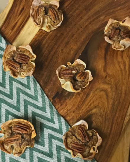 Pecan Pie Tartlets || Powell-Approved