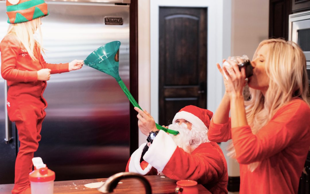 Santa vs. Heidi Part 2 || Geography Skills, Flexibility, and College Boozing Pay Off (Kind Of)