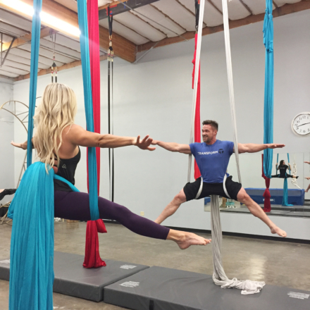 Fitness is Fun: Aerial Silks