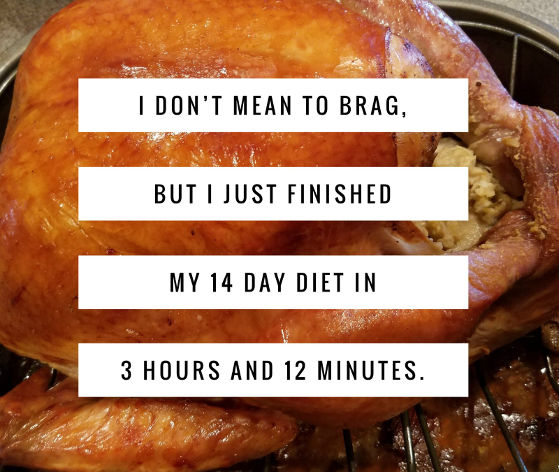 I Don?t Mean to Brag, But?My Thanksgiving?s Gonna Be Amazing || 10 Tips for a Guilt-Free Turkey Day
