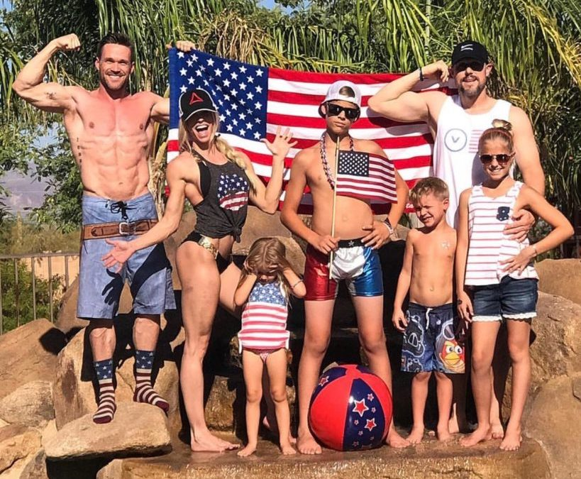 Celebrating America's Birthday with a Very American Family