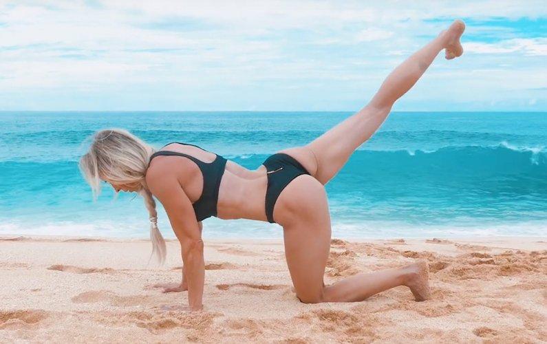 Hawaiian Beach Bum Bodyweight Workout