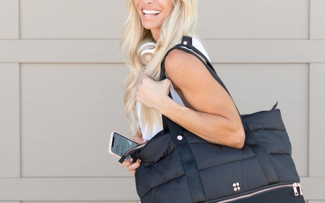 What's in My Gym Bag | 10 Gym Bag Essentials + GIVEAWAY